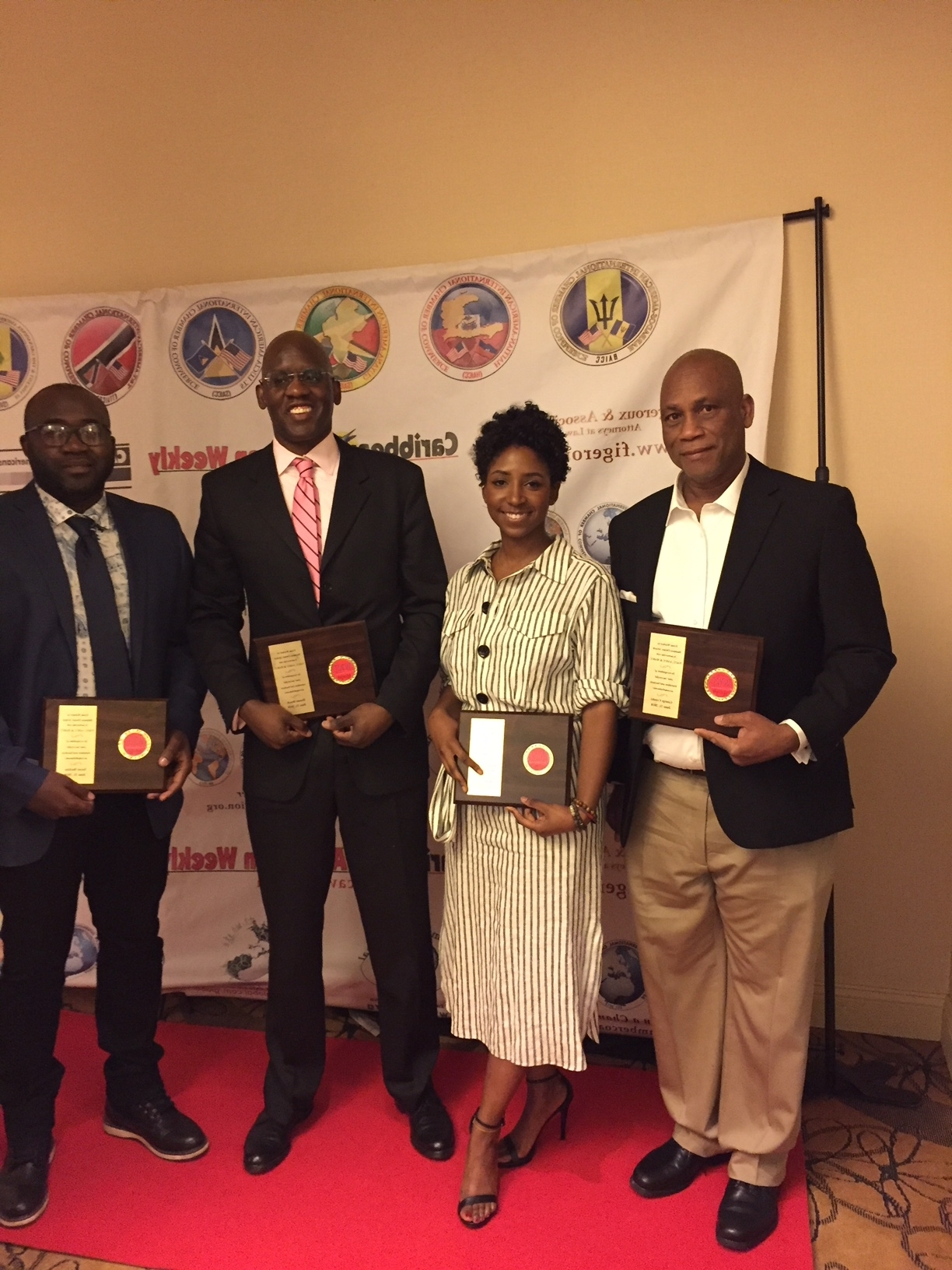 Awardees at the NACC International & Multicultural Business Expo 2018