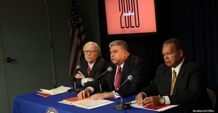 Brooklyn District Attorney Eric Gonzalez Unveils Justice 2020 Reforms