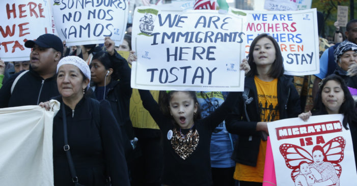 What is the agenda behind Trump's recent speech on Comprehensive Immigration Reform?