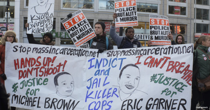 Eric Garner's Mother Struggles Through Cop's NYPD Trial